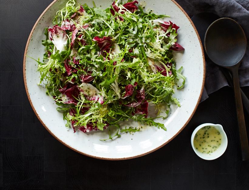 Creamy Tricolore Salad