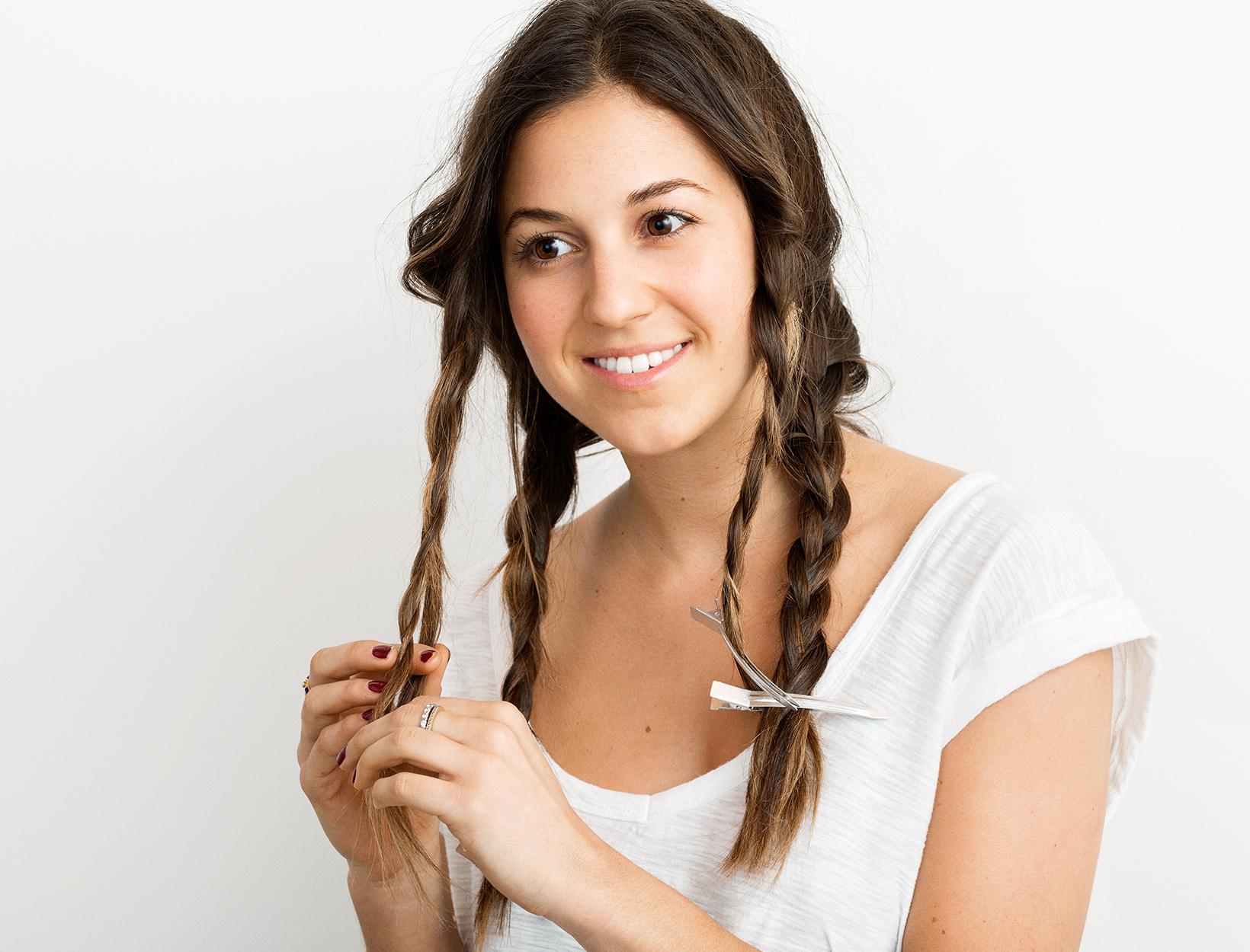 Effortless-Looking Hair, 3 Ways