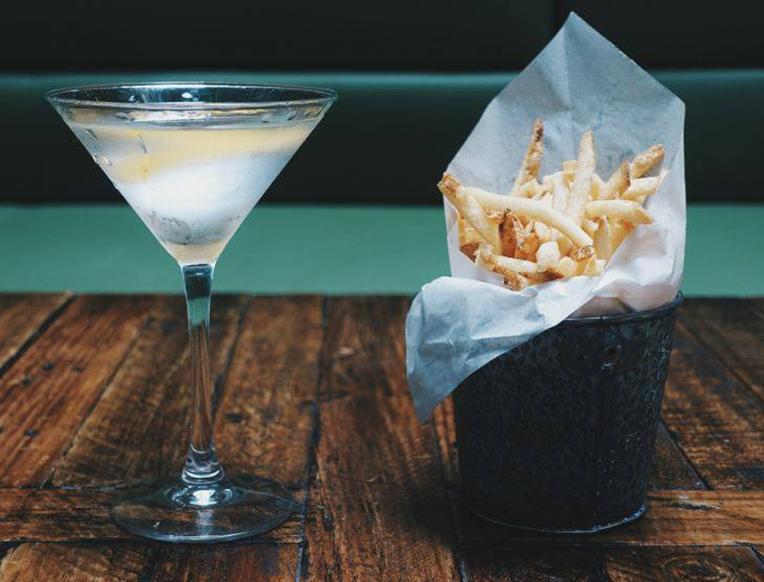 Martini Bar at the Raleigh