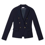 Theo Jacket With Gold Button Details