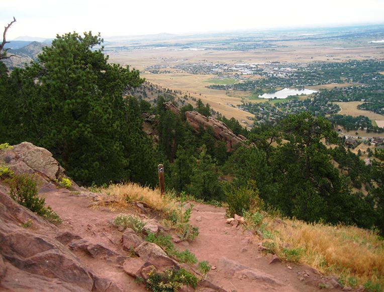 The Mount Sanitas Trail