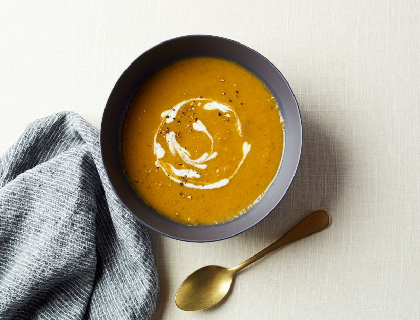 Spiced Carrot Soup