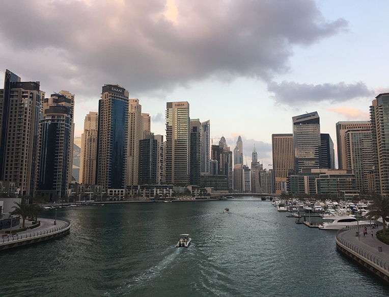 The Marina, The Walk, & JBR