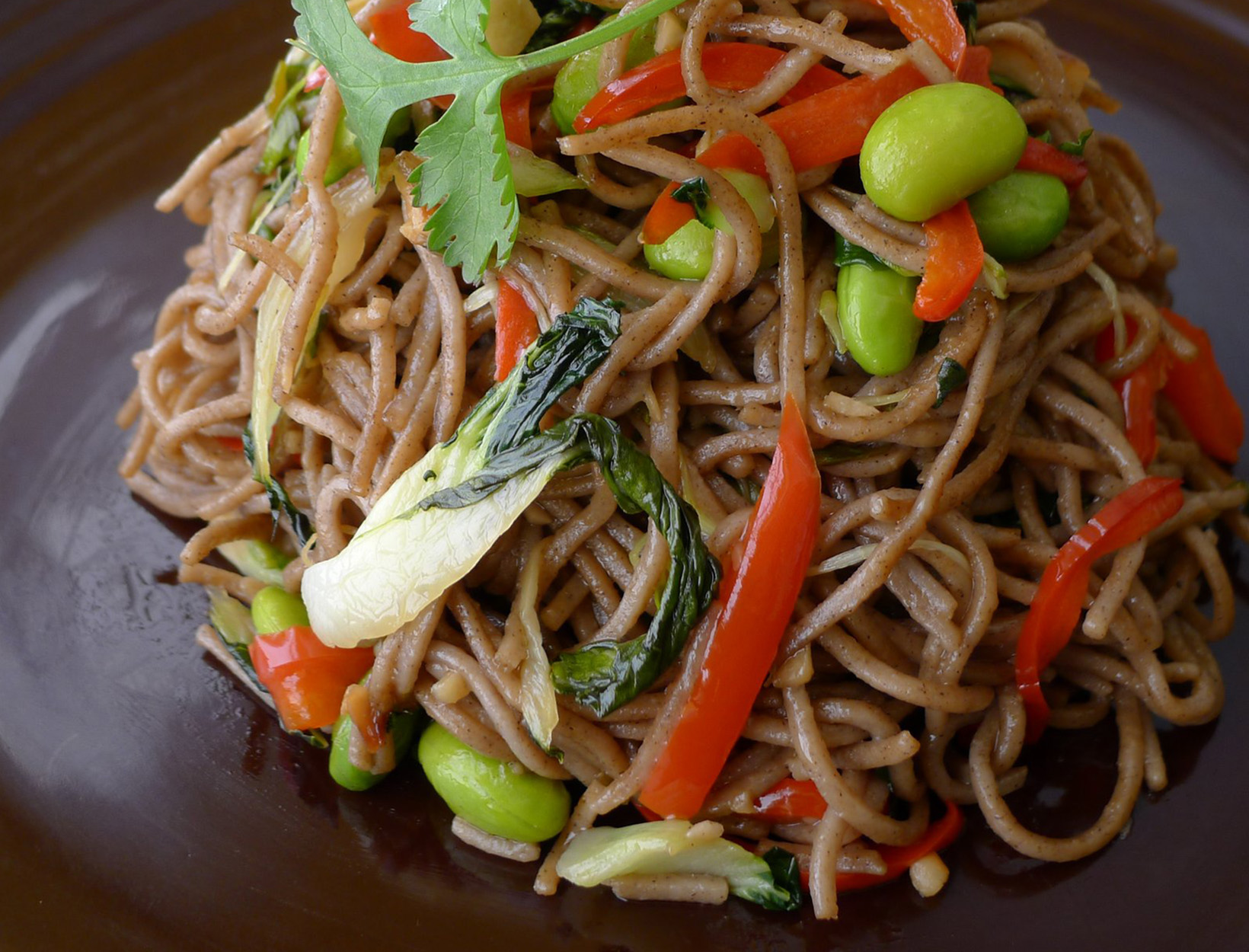 Vegetable Soba Noodles