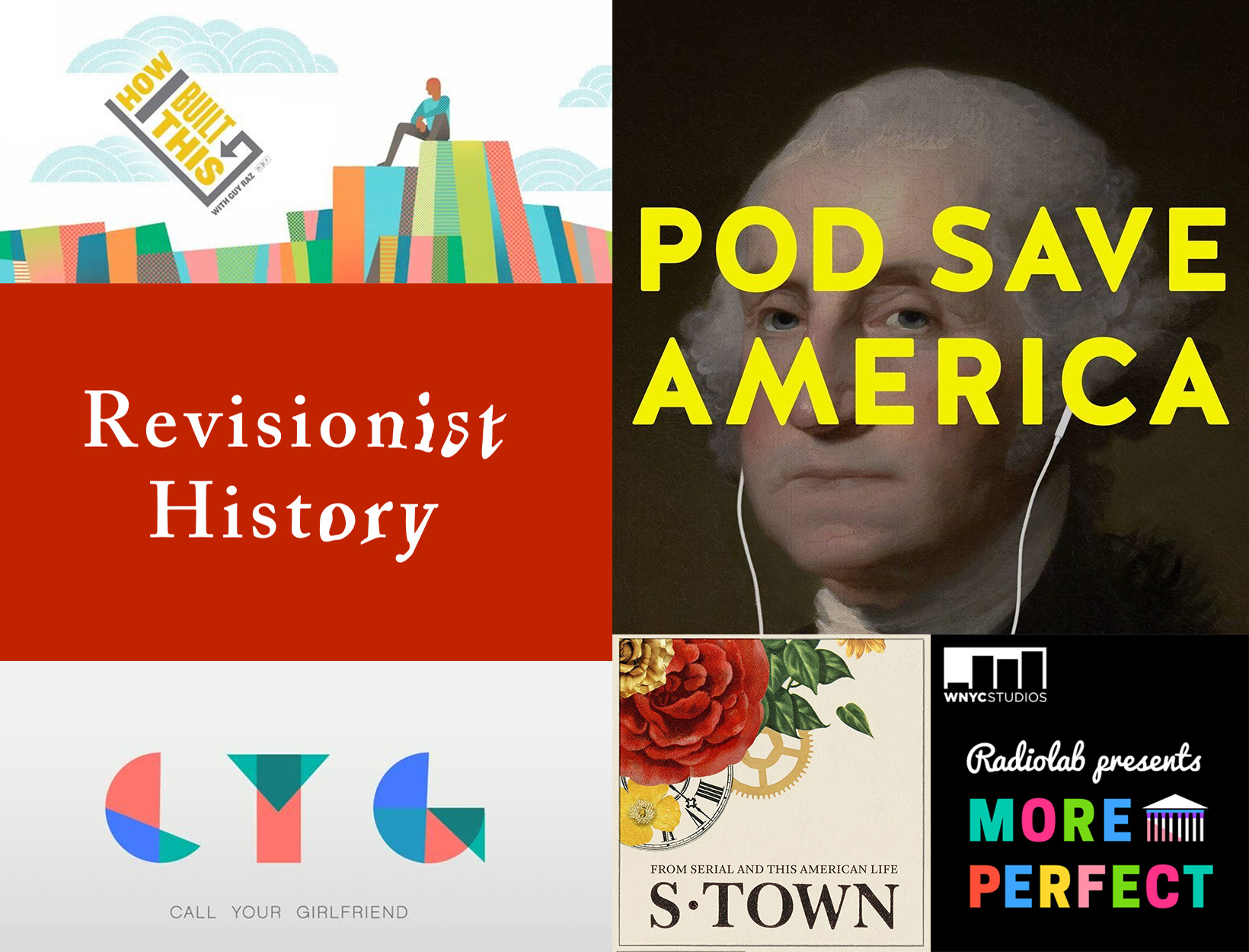 The Podcasts We're Streaming Now