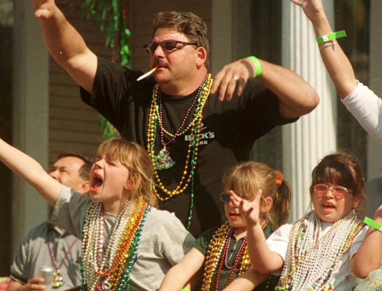 The Destructive Life of a Mardi Gras Bead
