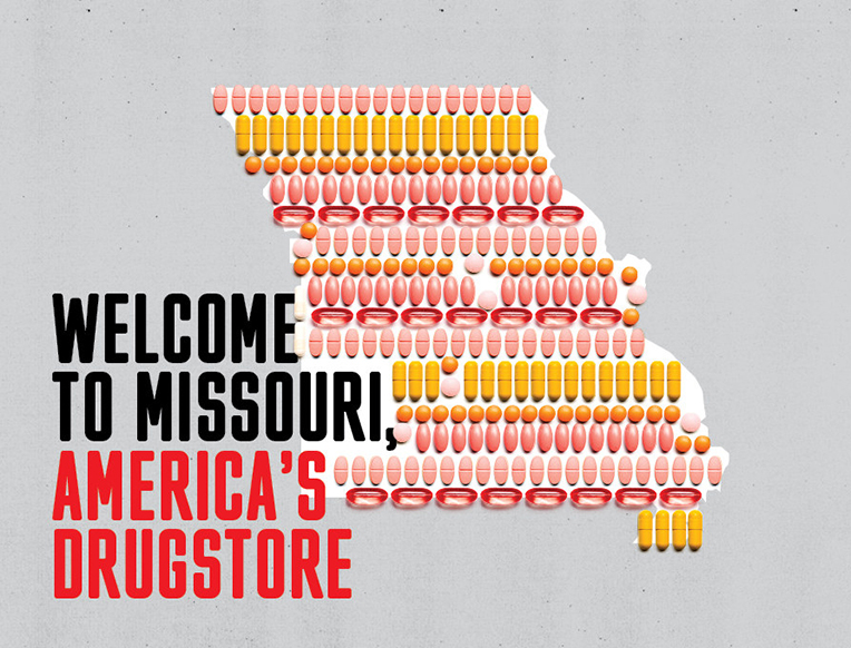 Welcome to Missouri, America's Drugstore