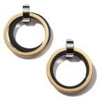 Earrings With Metal