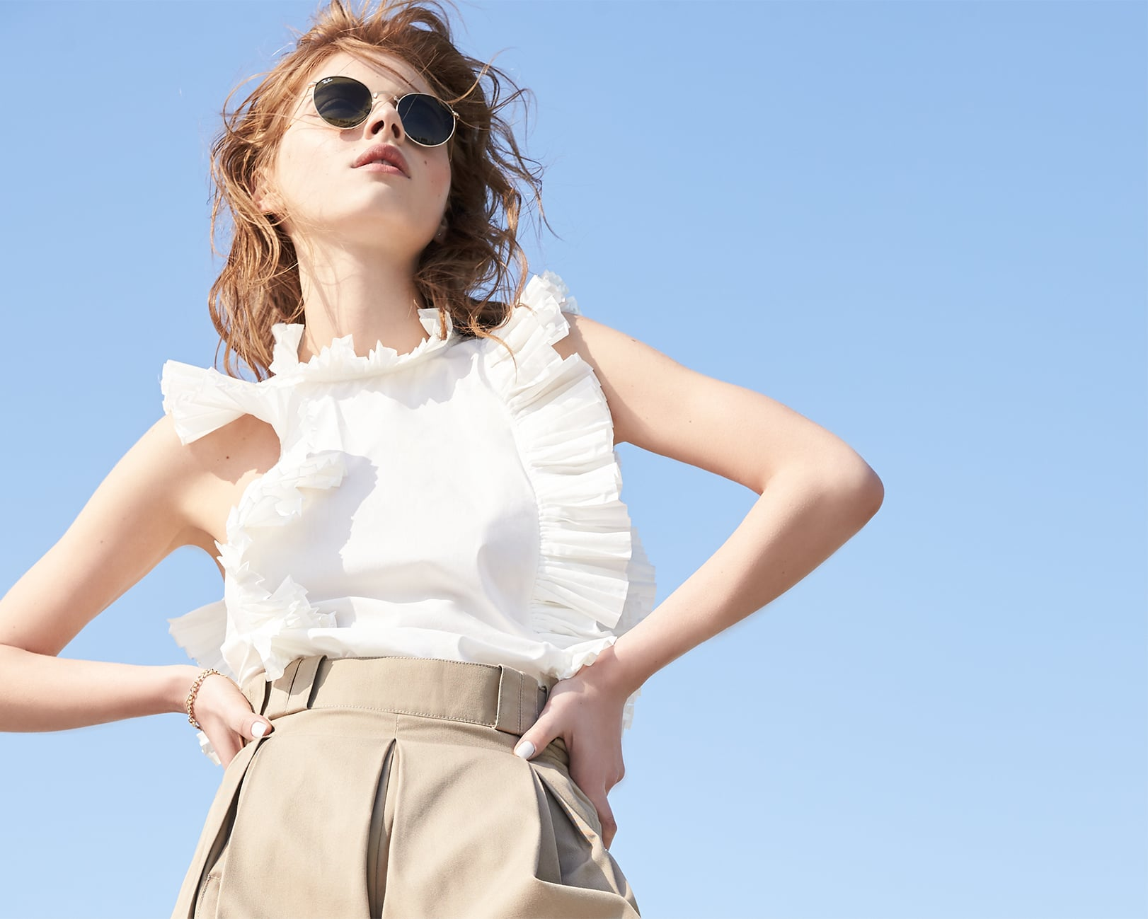 Spring Trend Report: Poplin, Ruffles & Denim to Wear Now
