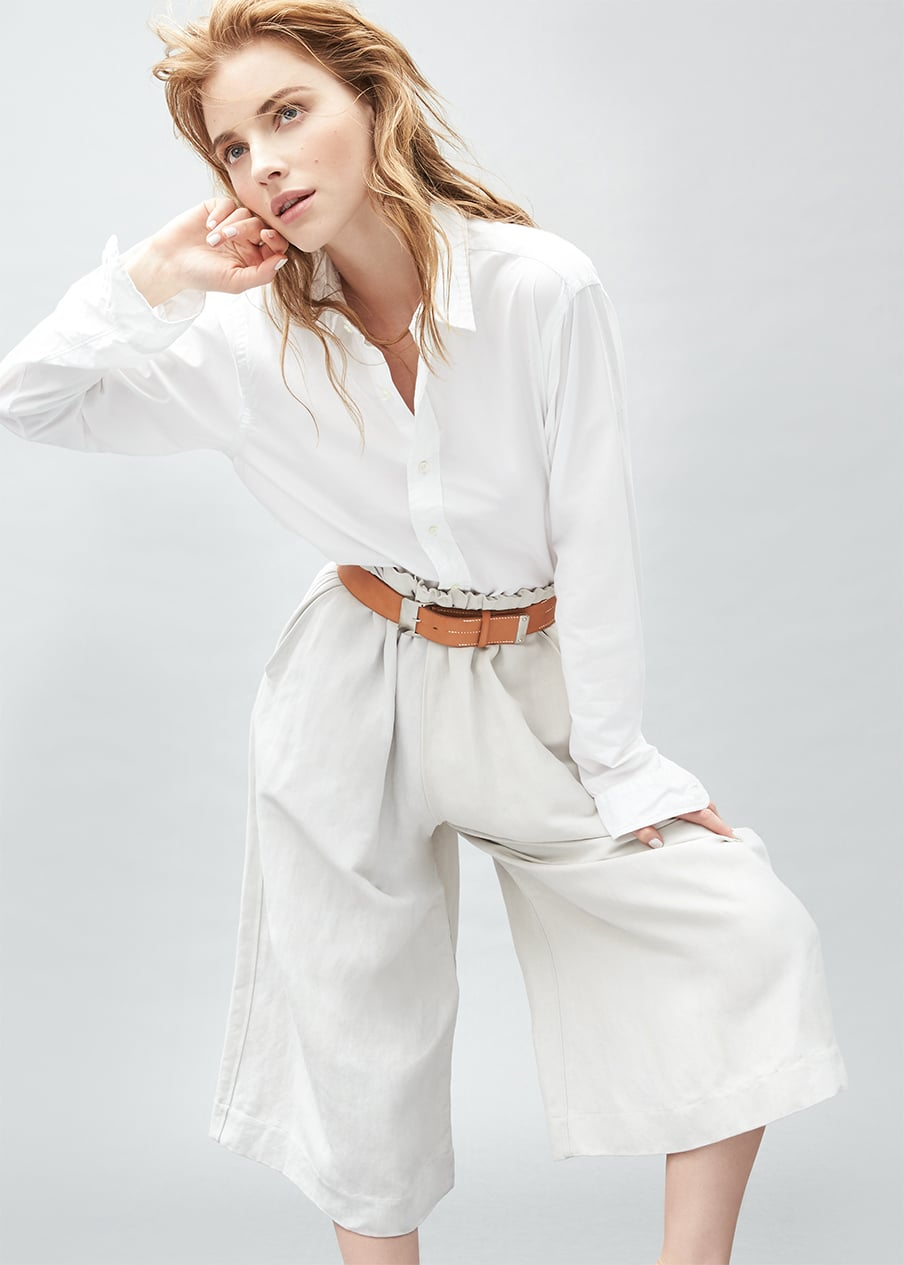 Spring Trend Report: Poplin, Ruffles & Denim to Wear Now