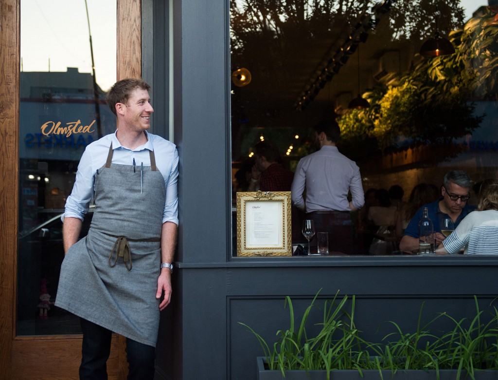 The Off-Duty Chef: Olmsted's Greg Baxtrom