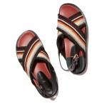 Multicolor Crisscross Sandal