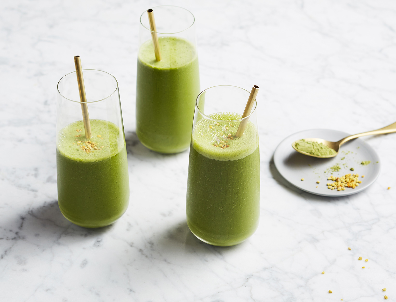 Morning Matcha Smoothie