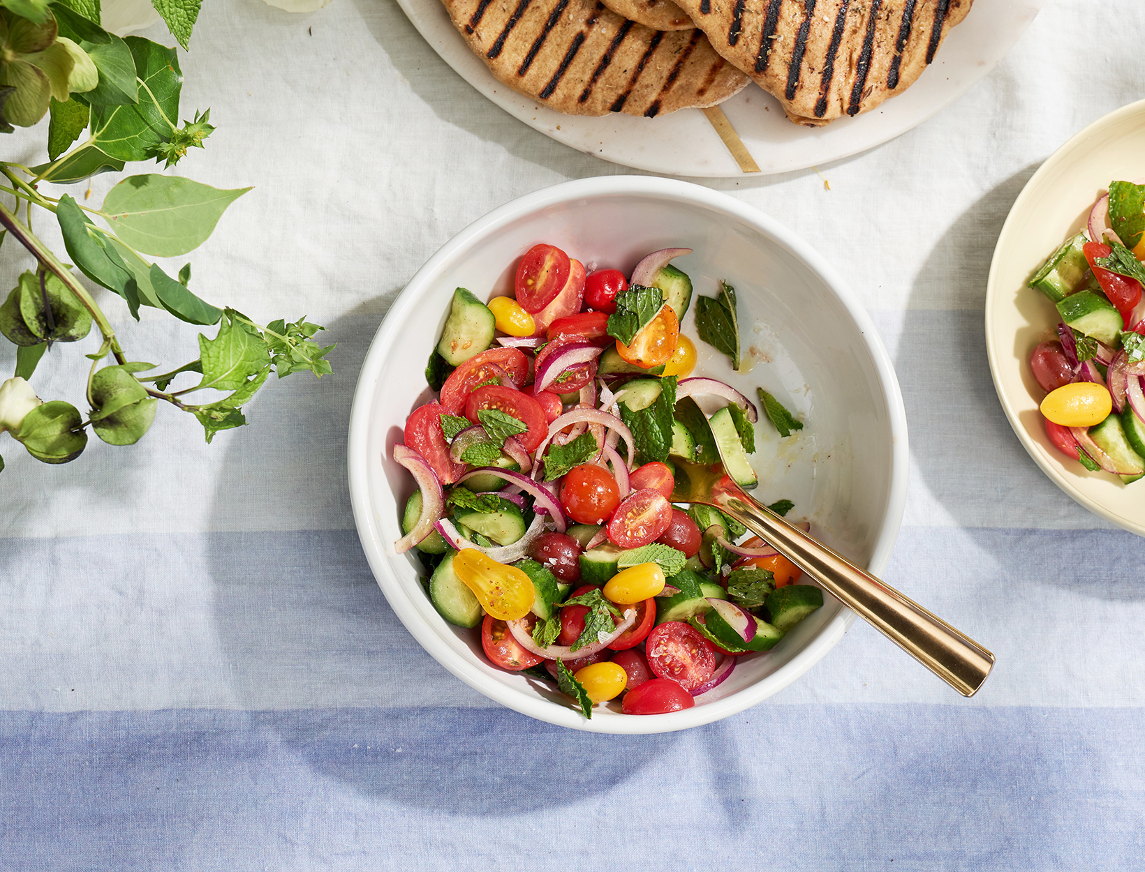 Tomato, Cucumber, and Mint Salad