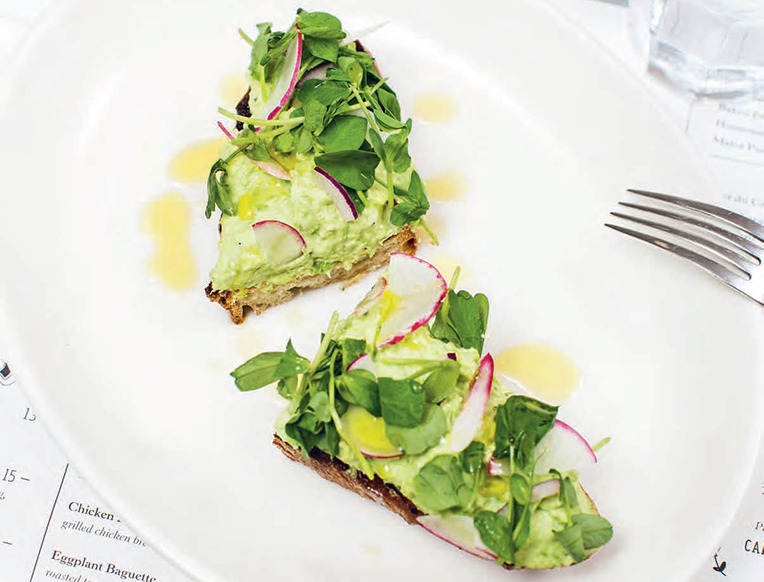 Pea and Ricotta Toast