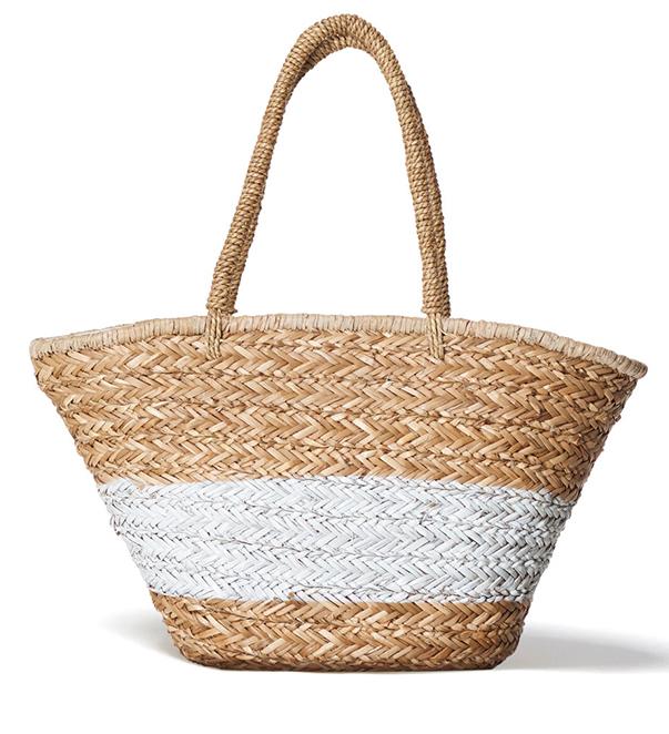 An Easy Summer Dressing Win: The Basket Bag