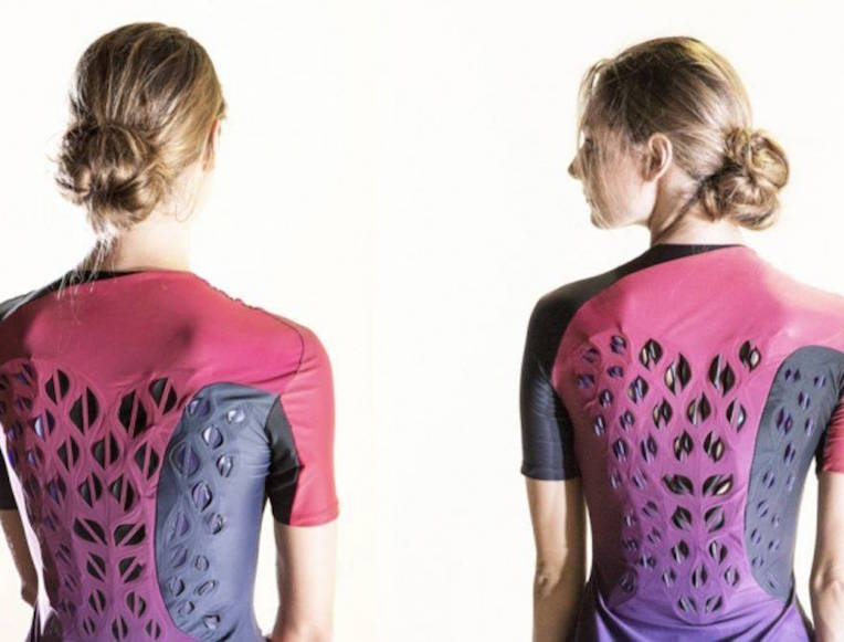 MIT Used Bacteria to Create a Self-Ventilating Workout Shirt
