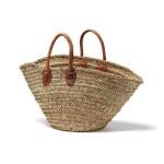 Round Rustic Market Bag