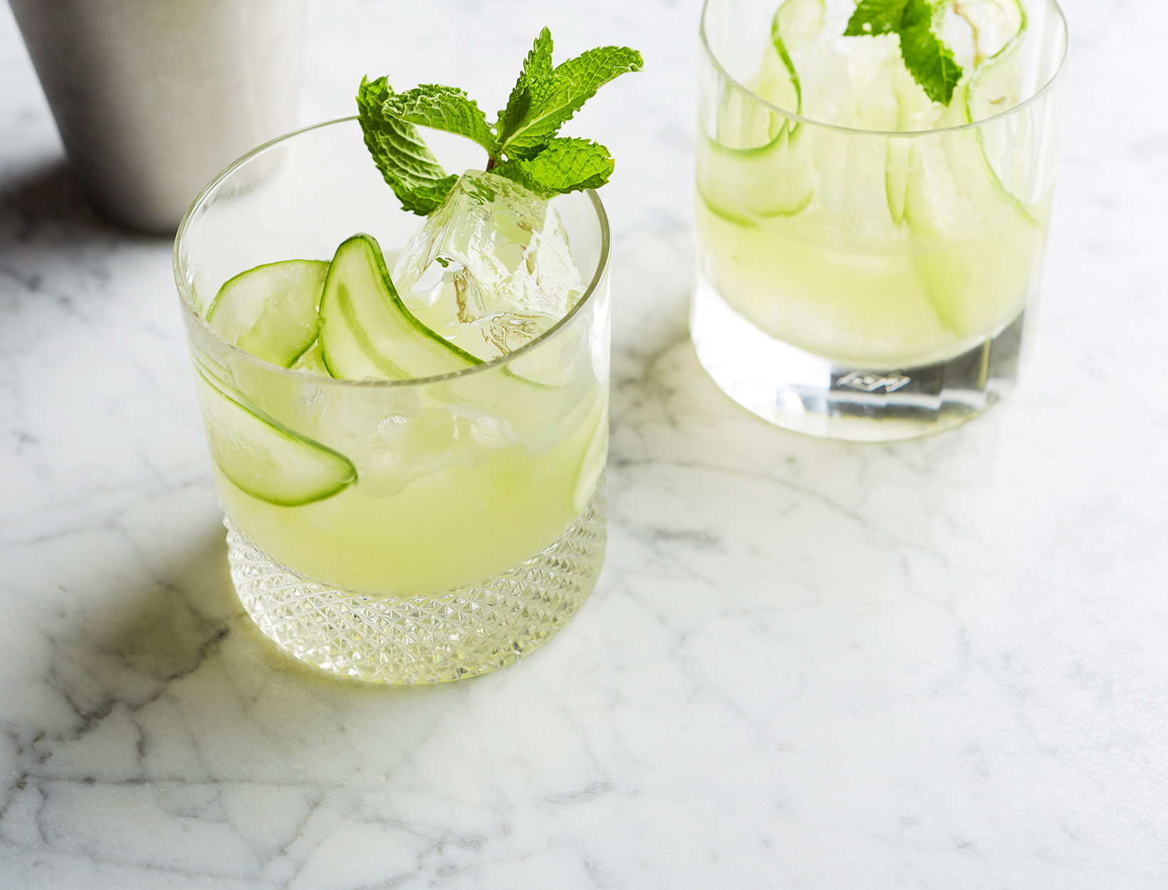 Cucumber Vodka Collins