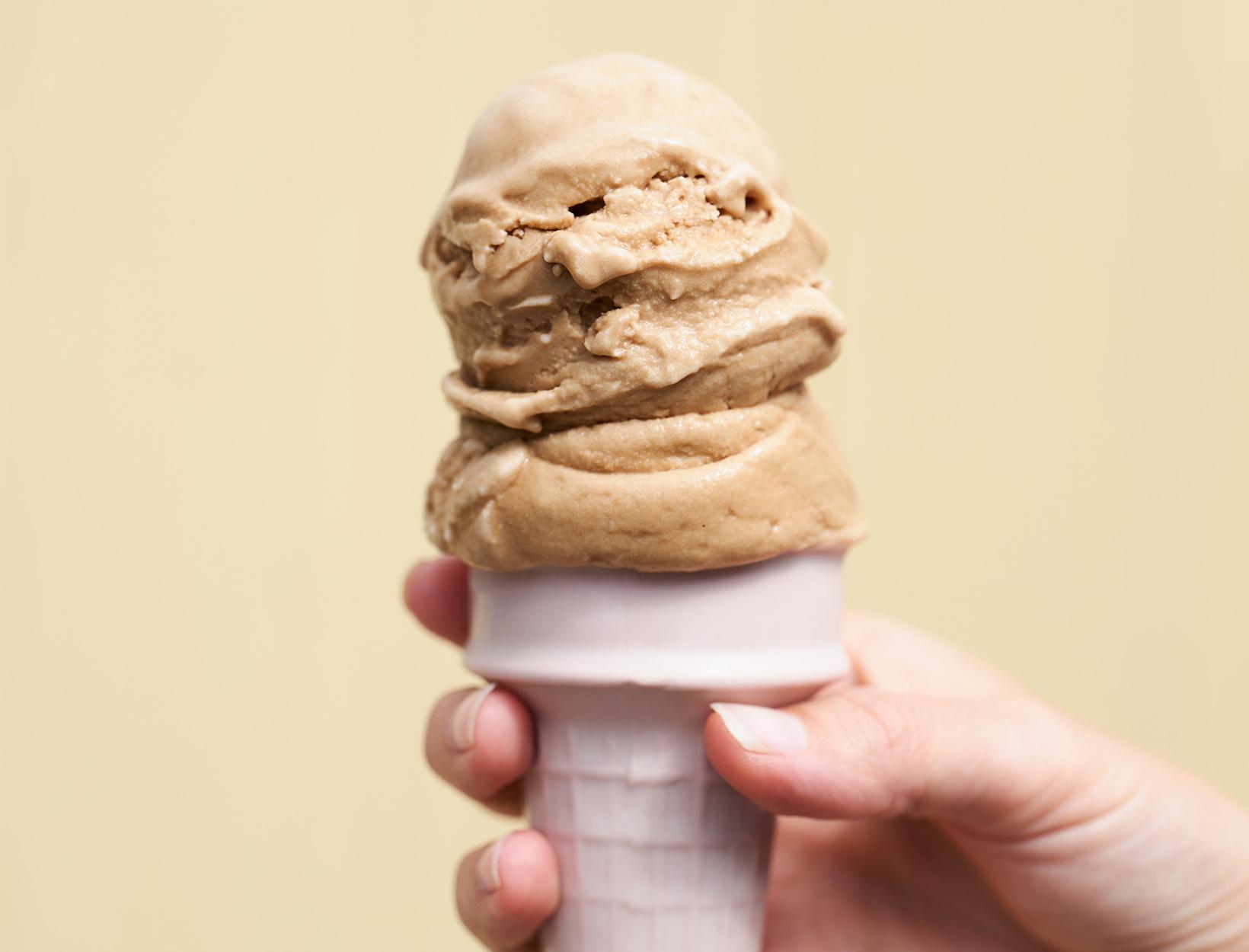 Coconut Milk Coffee Ice Cream