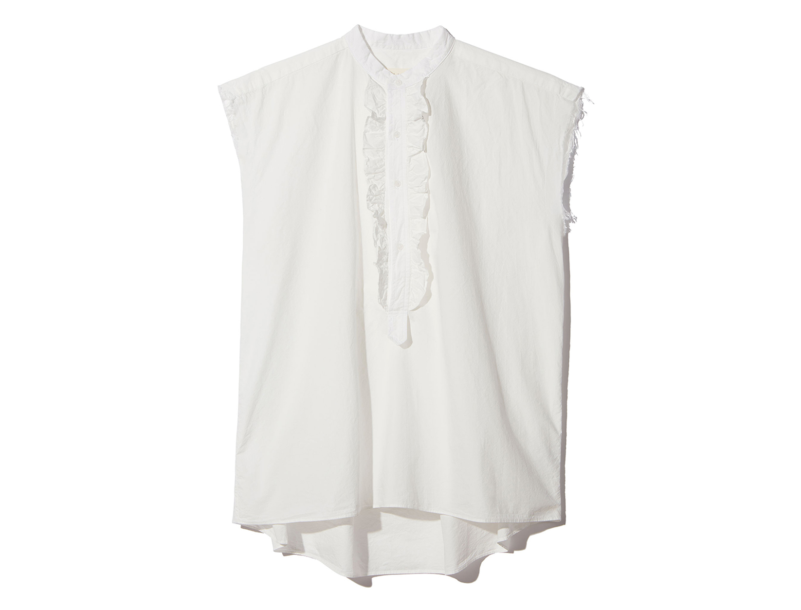One Piece, Three Ways: Ruffled Blouse