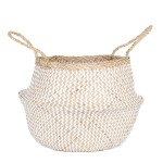 Woven Collapsible Rice Belly Basket – Zig Zag