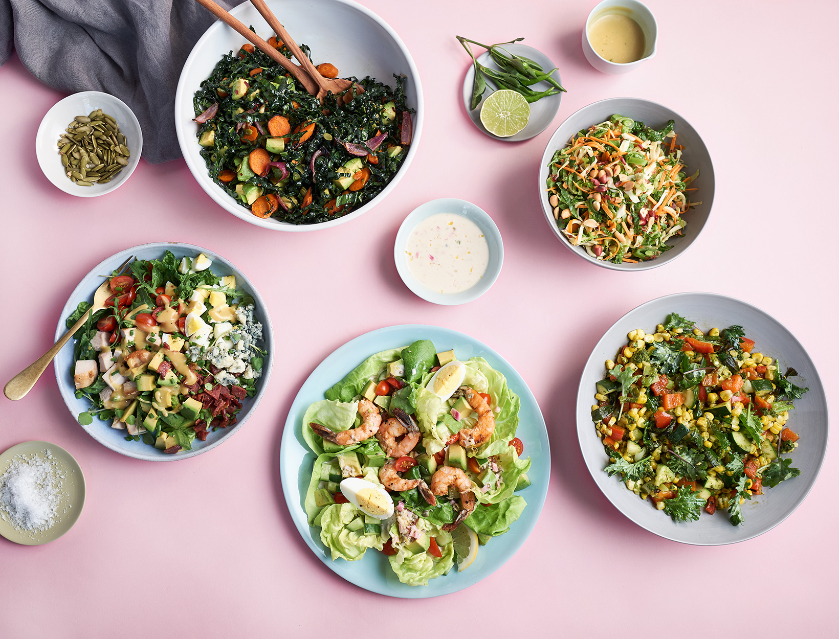 Refreshingly Simple Salad Ideas for When It's Hot Out