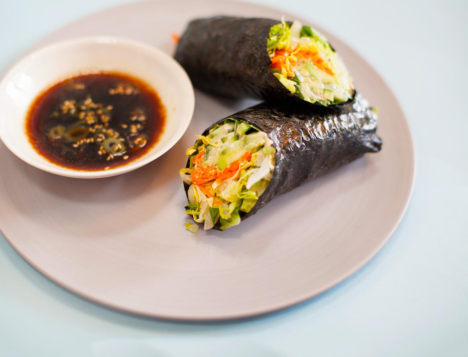 Shiso Nori Salad Rolls