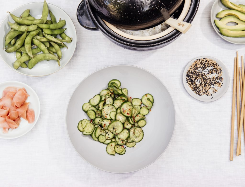 how to make japanese cucumber salad