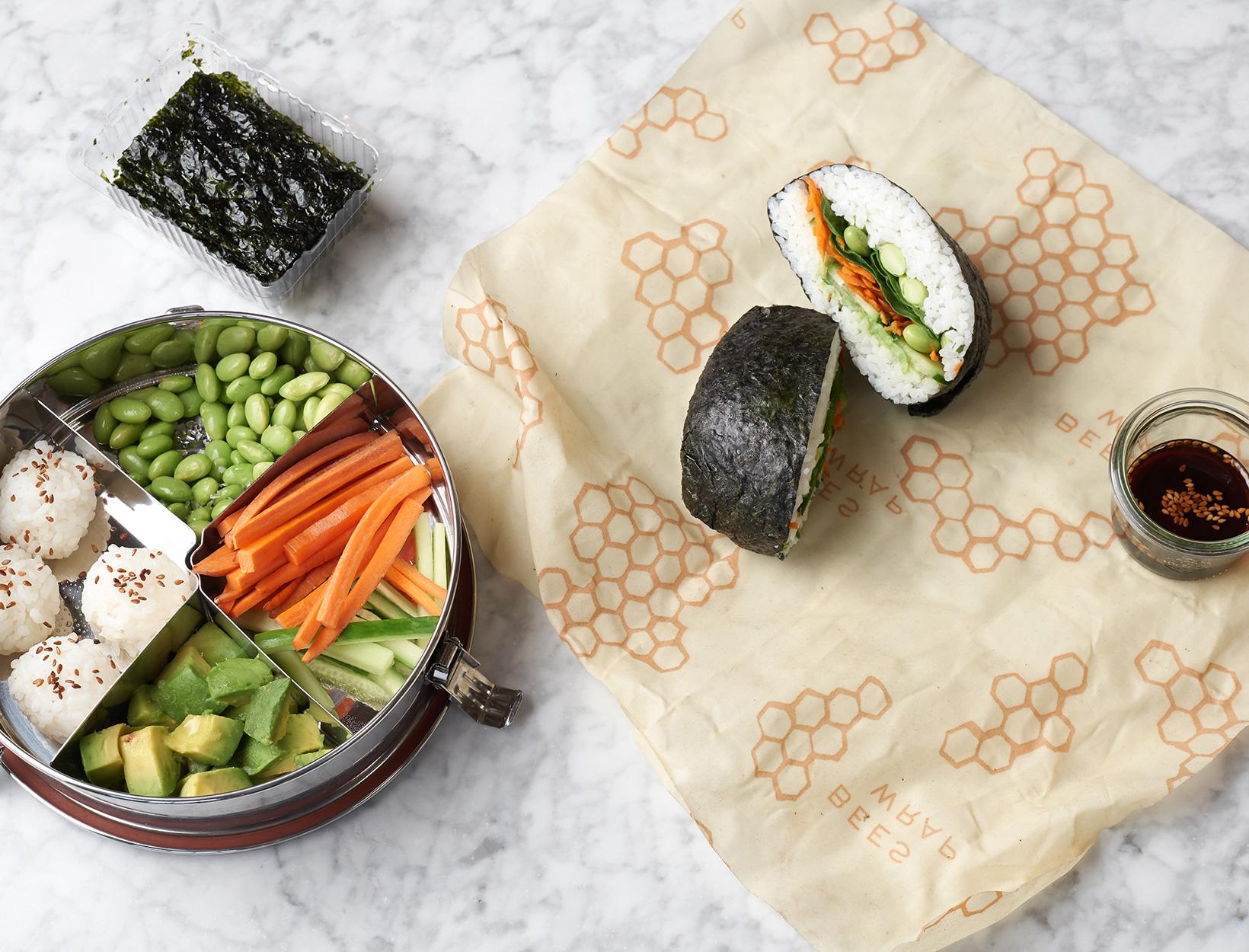 Double-Duty Sushi Lunch