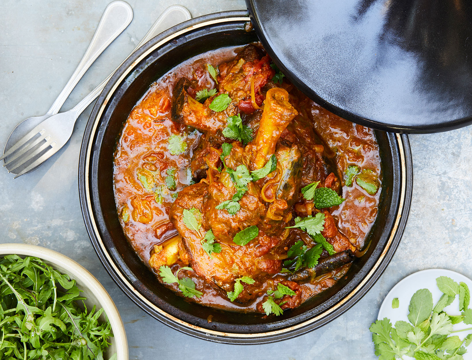 Lamb Tagine With Tomatoes Saffron And Cinnamon Recipe Goop
