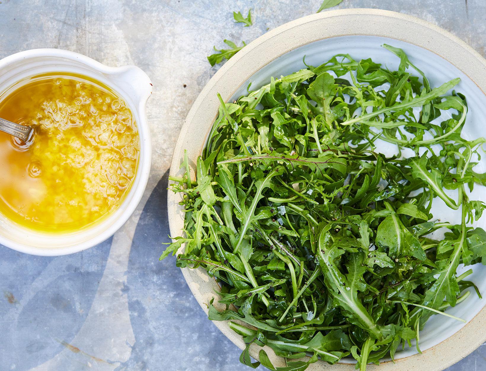 Preserved Lemon and Arugula Salad