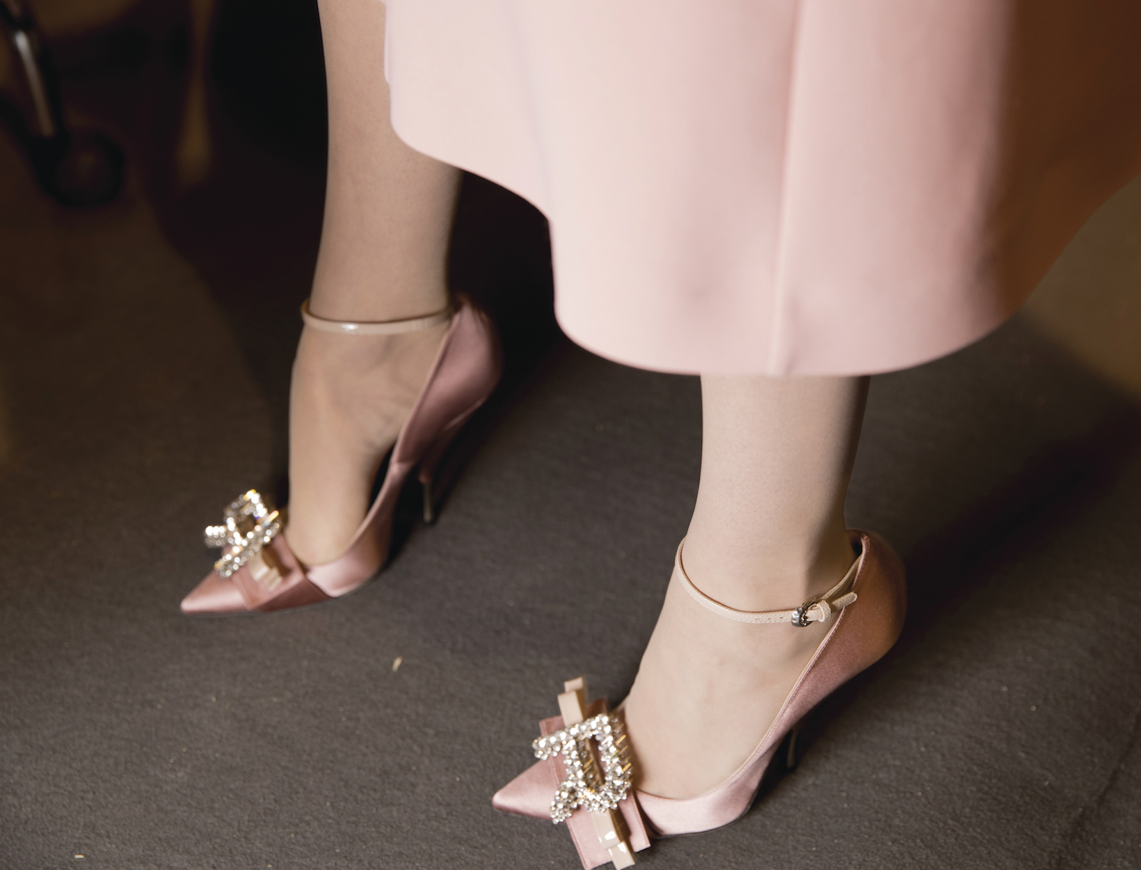 Style Update: Satin Shoes