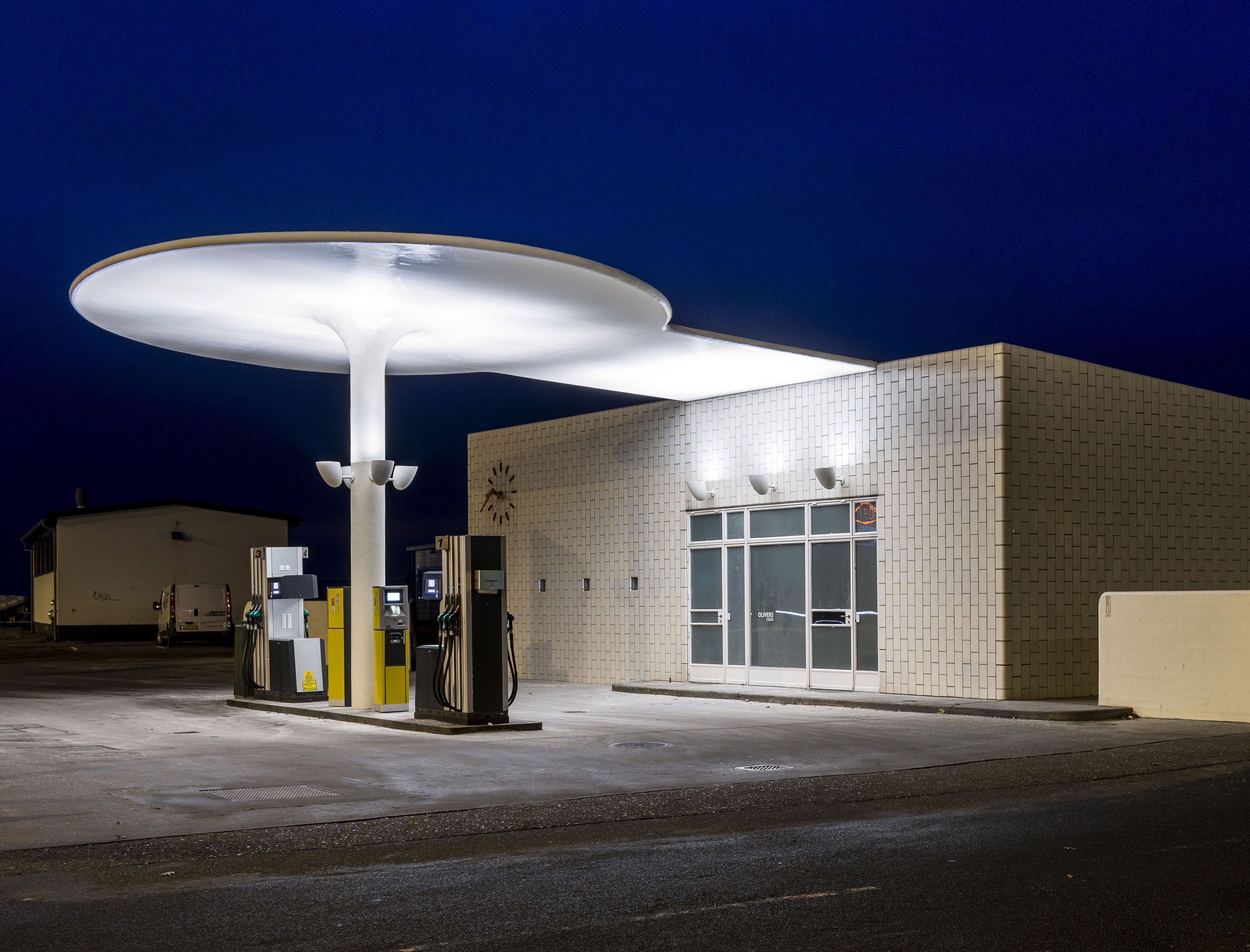 Arne Jacobsen Gas Station