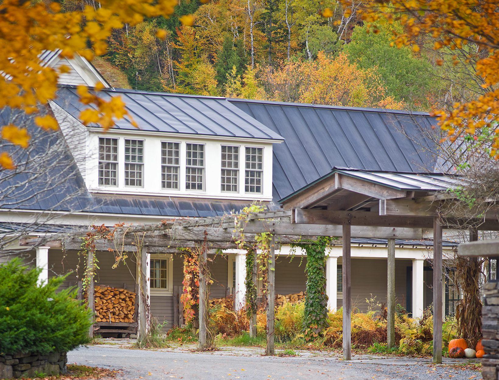 Twin Farms <br>Barnard, Vermont</em>