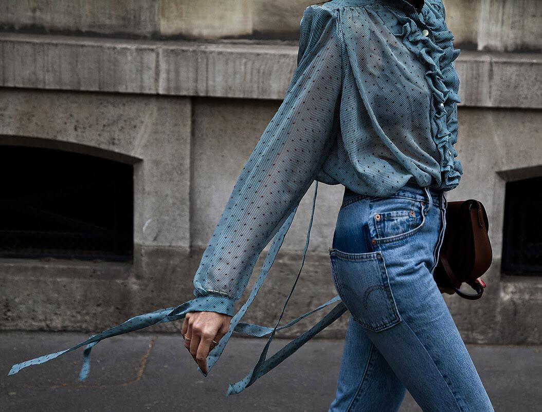 Fashion Uniform: Fancy Blouse + Jeans + Loafers
