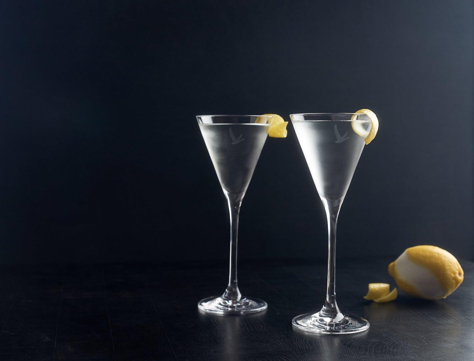 Bespoke martini goop for Vodka martini