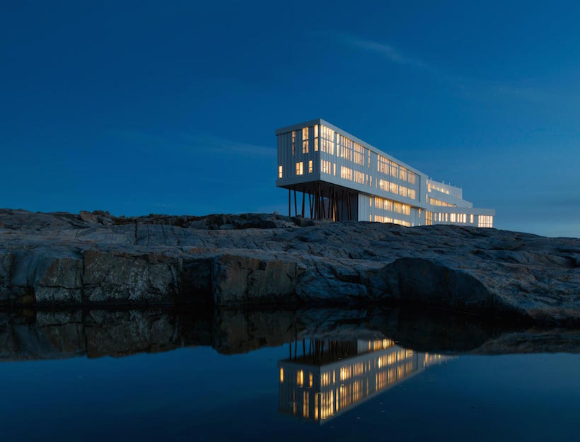 Fogo Island Inn <br>Newfoundland</em>