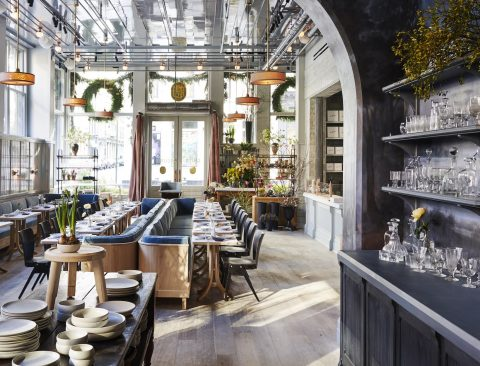 Roman and Williams Open a SoHo Flagship (Florist and French Café Included)