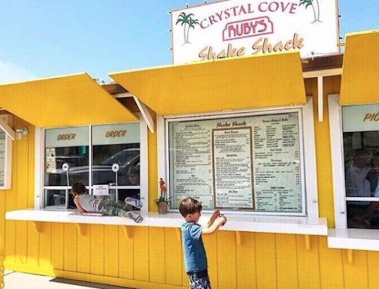 Ruby's Crystal Cove Shake Shack