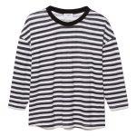 Boxy Stripe Long-Sleeve