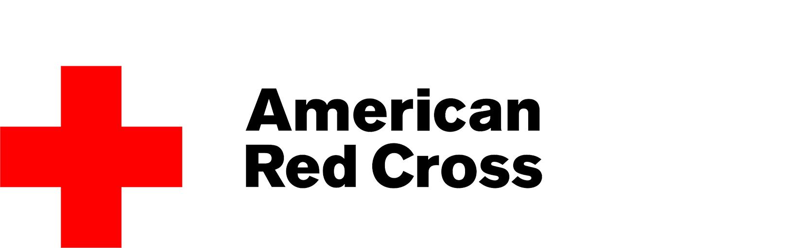 Volunteer with Red Cross