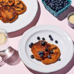 Sweet Potato Pancake with Coconut and Berries