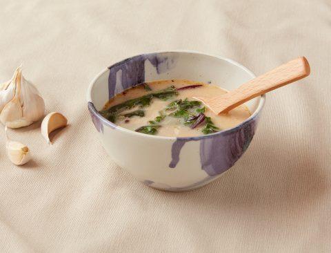 Garlic and Greens Soup