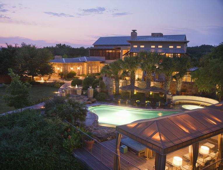 Lake Austin Spa Resort <br><em>Austin, Texas</em>