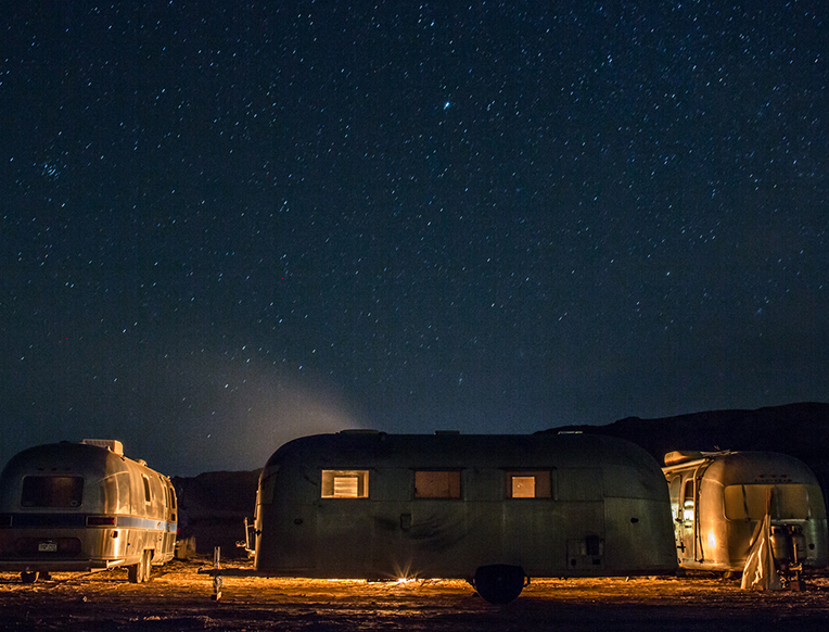 Caravan Outpost <br>Ojai, Kalifornija</em>