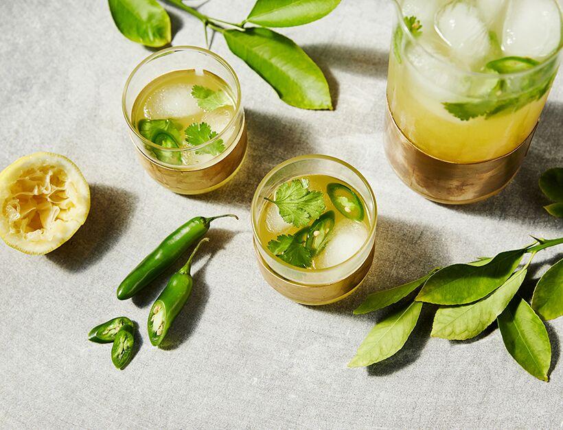 Spicy Cilantro Lemonade