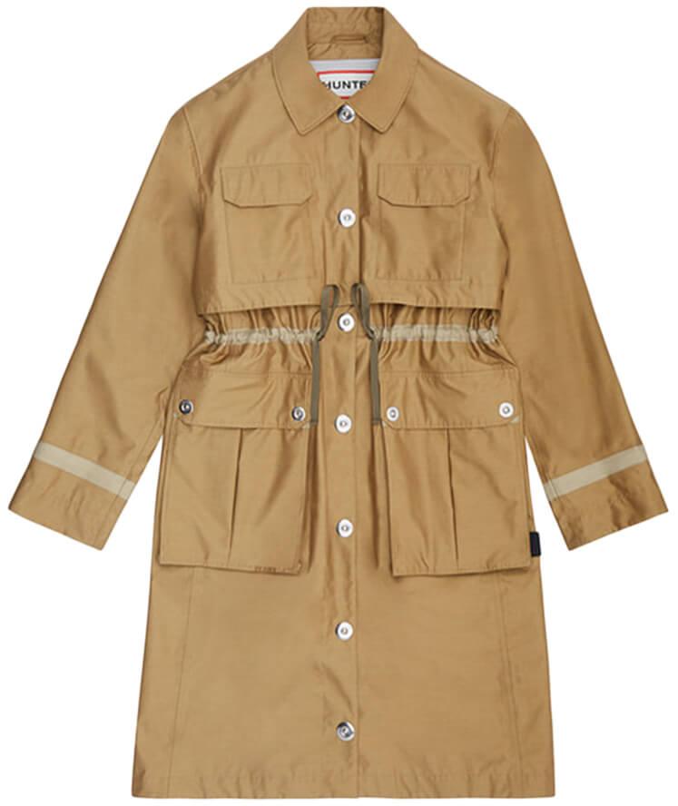 Fashion Uniform: Trench Coat + Jeans + Mules