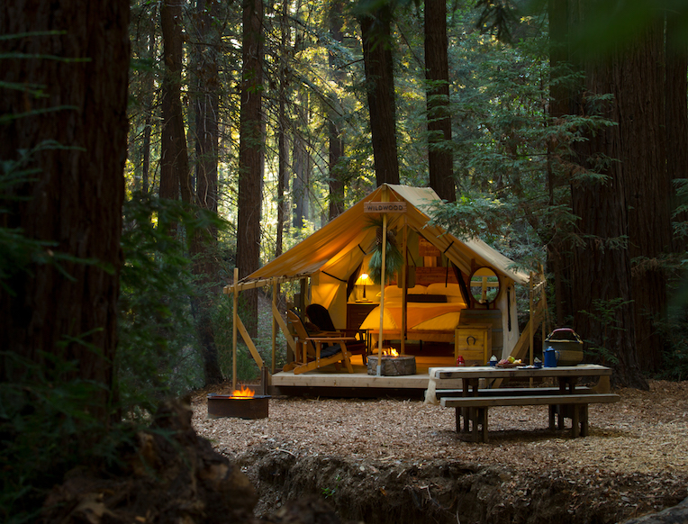 Glampsites at Ventana Big Sur