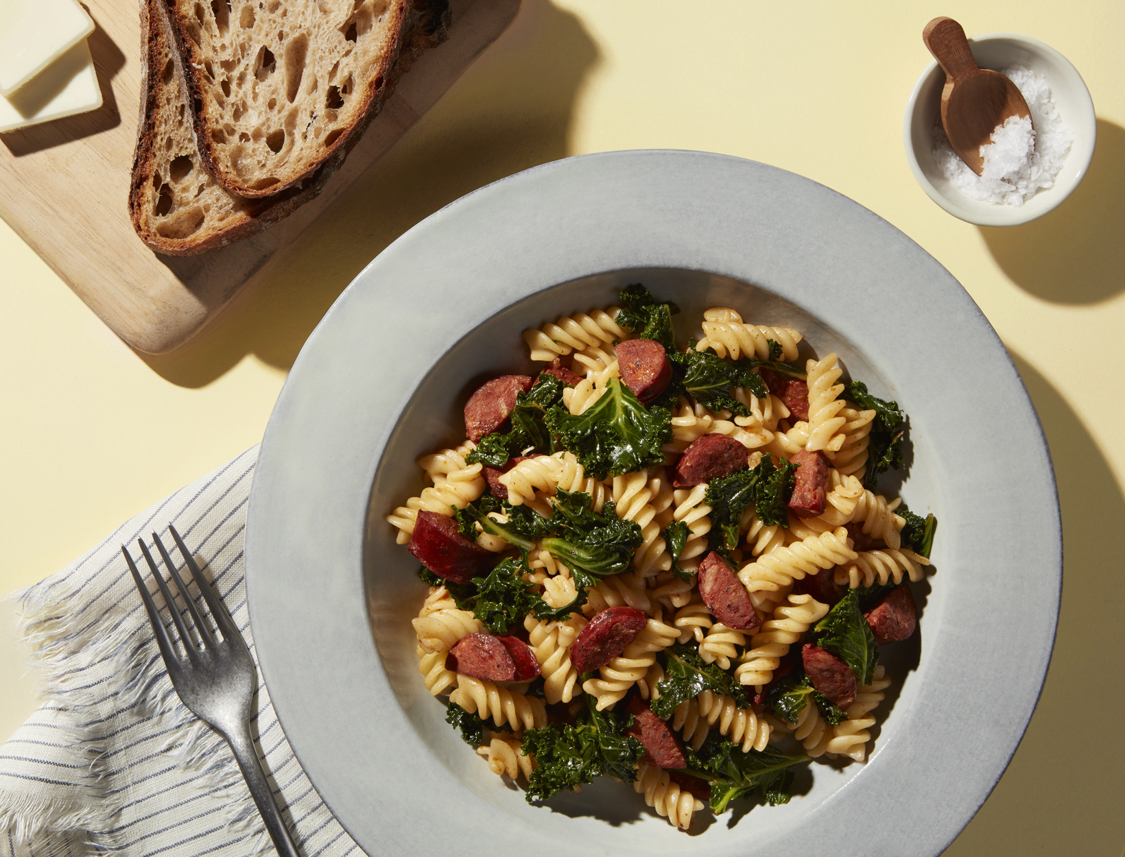 FRIDAY <br>Kale and Chorizo Pasta